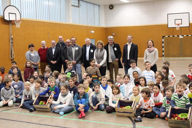 Äpfel für Alle an der Karl-Nahrgang-Schule
