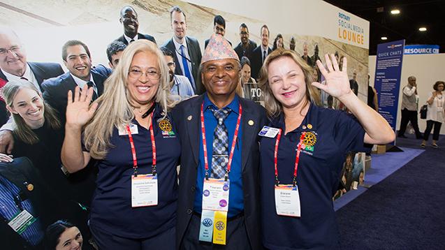 gesundekids auf der Rotary Convention