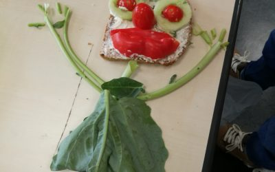 Lachende Brotgesichter in der Taunusschule